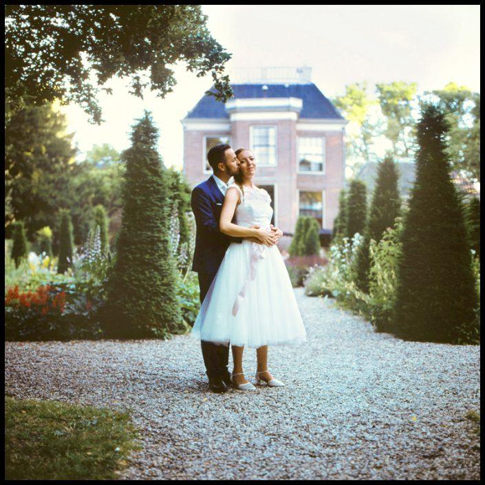 De button naar een bruidsreportage in Huize Franckendael te Amsterdam. Aan de hand van professioneel trouwfotograaf Sophie Bruidsfotografie.