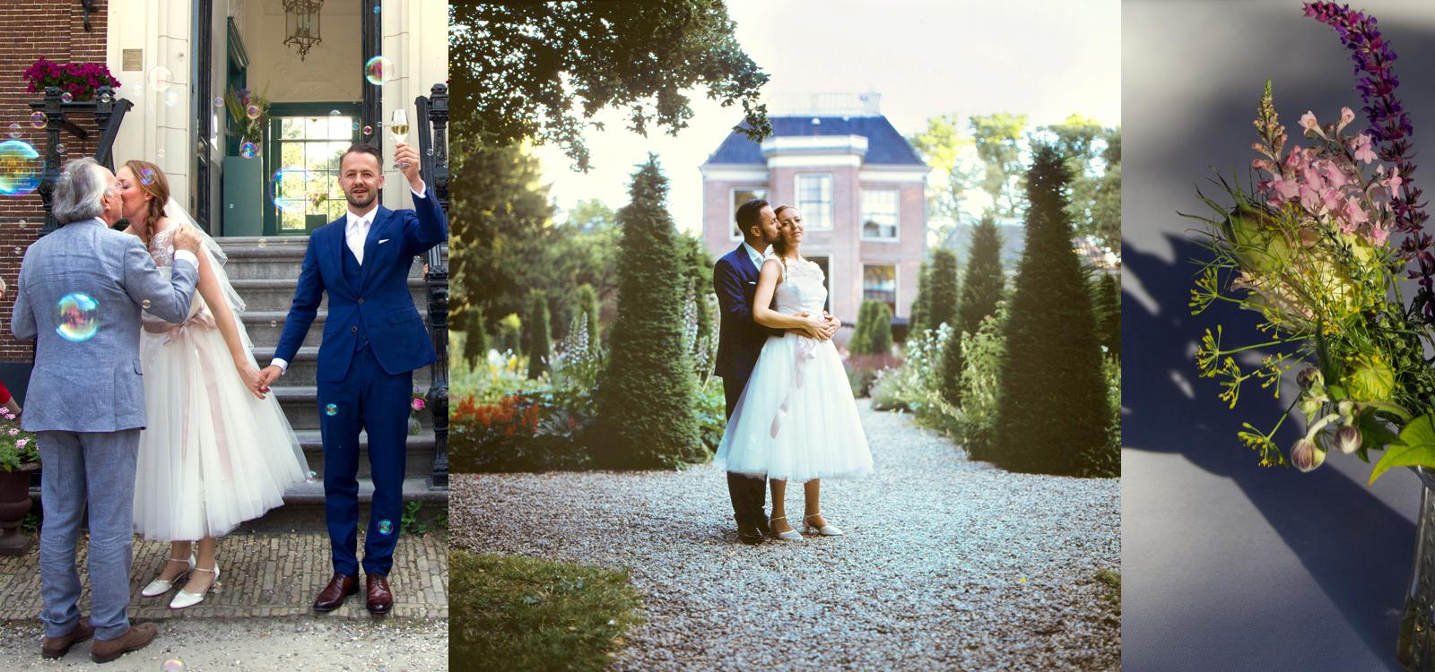 Sfeervolle trouwfotografie door een ervaren trouwfotograaf.